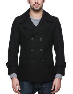 Match - Classic Pea Coat Winter Coat