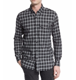 Belstaff - Samuel Check Flannel Long-Sleeve Shirt
