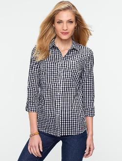 Talbots - Paradise Gingham Check Shirt
