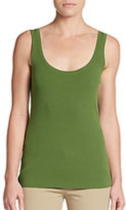Michael Kors - Stretch Ribbed Tank