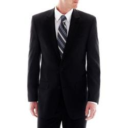 Izod - Black Striped Suit Jacket