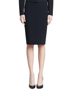 St. John Collection - Crepe Marocain Skirt