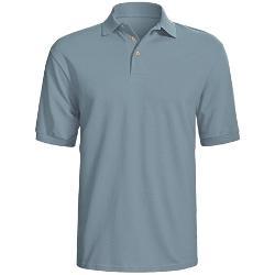 Hanes  - Stedman Sport Polo Shirt - Cotton Pique, Short Sleeve