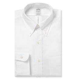 Brooks Brothers   - Button-Down Cotton Oxford Shirt