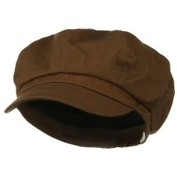 E4hats  - Big Size Cotton Newsboy Hat