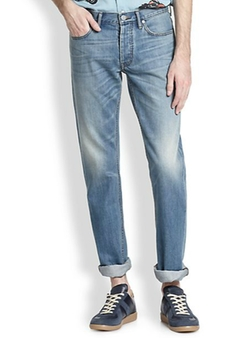 Marc by Marc Jacobs  - Light Wash Straight-Leg Jeans