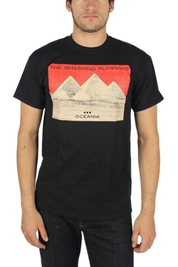 Smashing Pumpkins  - Mens Red Sky T-Shirt