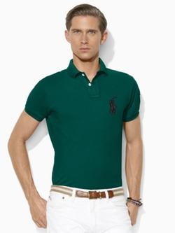 Polo Ralph Lauren - Custom-Fit Big Pony Polo Shirt
