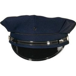 Out In Style, Inc. - Navy Blue Police/Security Cap
