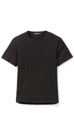 Anzevino Getty  - Side Mesh T-Shirt