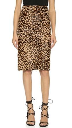 The Perfext - Belen Print Haircalf Skirt