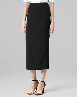 REISS Skirt - Bryant Straight Midi