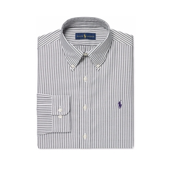 Polo Ralph Lauren - Charcoal Bengal Stripe Dress Shirt