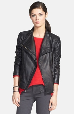 Trouvé  - Leather Moto Jacket