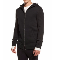 Helmut Lang - Two-Way Front-Zip Long Hoodie