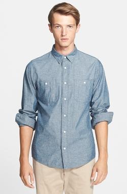 Jack Spade - Trim Fit Chambray Shirt