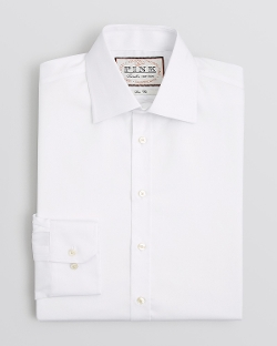 Thomas Pink - Non-Iron Robin Plain Dress Shirt