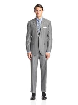 Ike Behar  - Stripe Suit