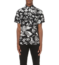 Ralph Lauren - Floral-Print Short-Sleeved Shirt