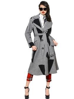 Vivienne Westwood  - Patchwork Wool Twill Coat