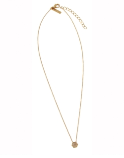 Rachel Zoe - Small Pyramid Pendant Necklace