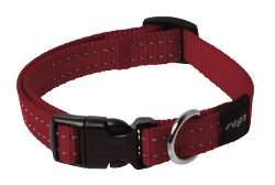 Rogz  - Utility Reflective Snake Dog Collar