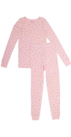 Skylar Luna  - Heart-Print Sleep Pajama