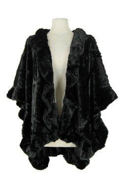 Jostar - Acrylic Faux Fur Cape