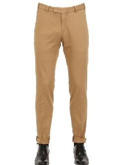 Boglioli - Cotton Pique Trousers