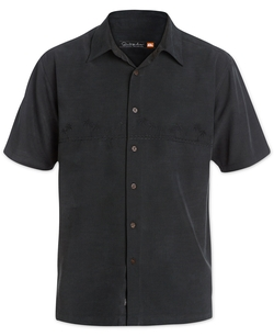 Quiksilver Waterman - Tahiti Palms Short-Sleeve Shirt