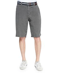 Armani Collezioni   - Linen Shorts