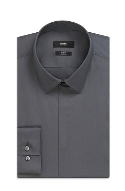 Boss Hugo Boss - Point Collar Stretch Cotton Blend Dress Shirt