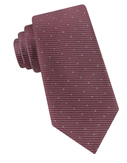 Black Brown 1826 - Textured Pin Dot Tie
