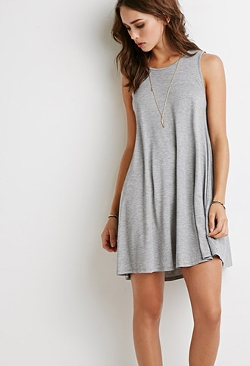 Forever 21 - Heathered Trapeze Dress