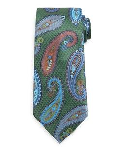 Ermenegildo Zegna   - Quindici Placed Paisley Tie