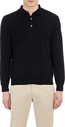 Piattelli  - Long-Sleeve Polo Shirt