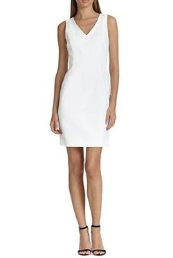 Piazza Sempione  - Techno Cotton Sheath Dress