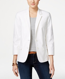 Tommy Hilfiger - Textured Two-Button Blazer