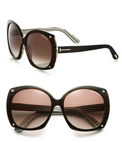 Tom Ford Eyewear - Gabrielle Square Sunglasses