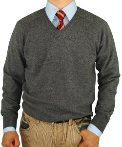 Luciano Natazzi - V-Neck Merino Wool Sweater