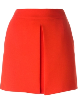 McQ Alexander McQueen   - Inverted Pleat Skirt