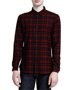The Kooples - Square Button Down Shirt