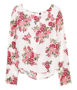 H&M - Patterned Blouse