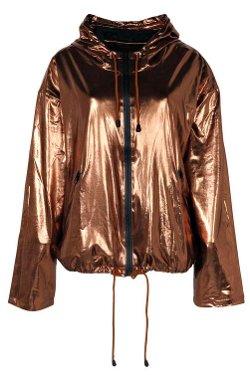 Boohoo  - Madison Metallic Bomber Jacket