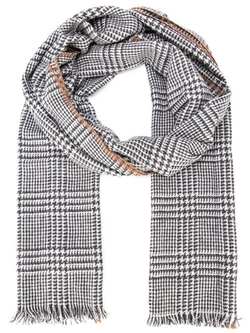 Brunello Cucinelli  - Prince Of Wales Check Scarf