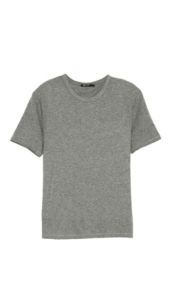 T by Alexander Wang - Classic Short Sleeve T-Shirt