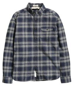 H&M - Plaid Flannel Shirt