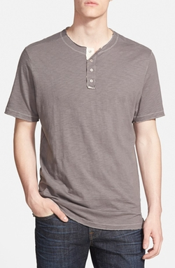 True Grit - Short-Sleeve Henley T-Shirt