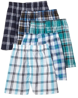 Fruit Of The Loom - Tartan Woven Boxer Shorts