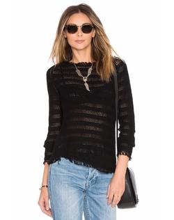 Inhabit - Fringe Stripe Sweater